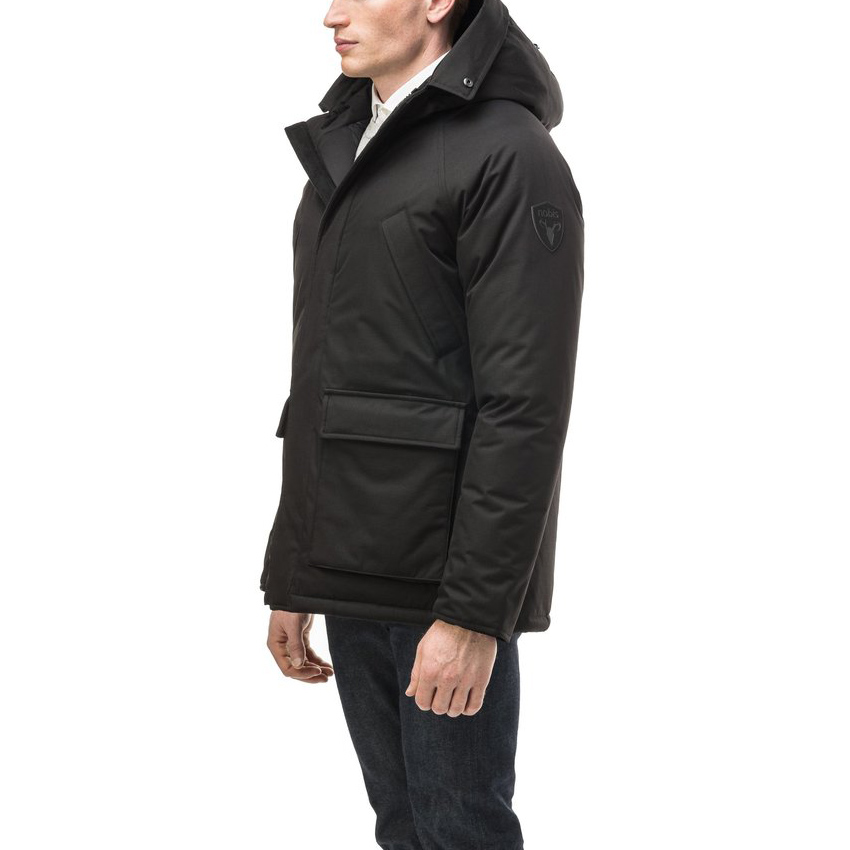 Nobis Jas Heritage Parka Black without