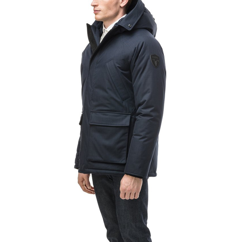 Nobis Jas Heritage Parka Navy without