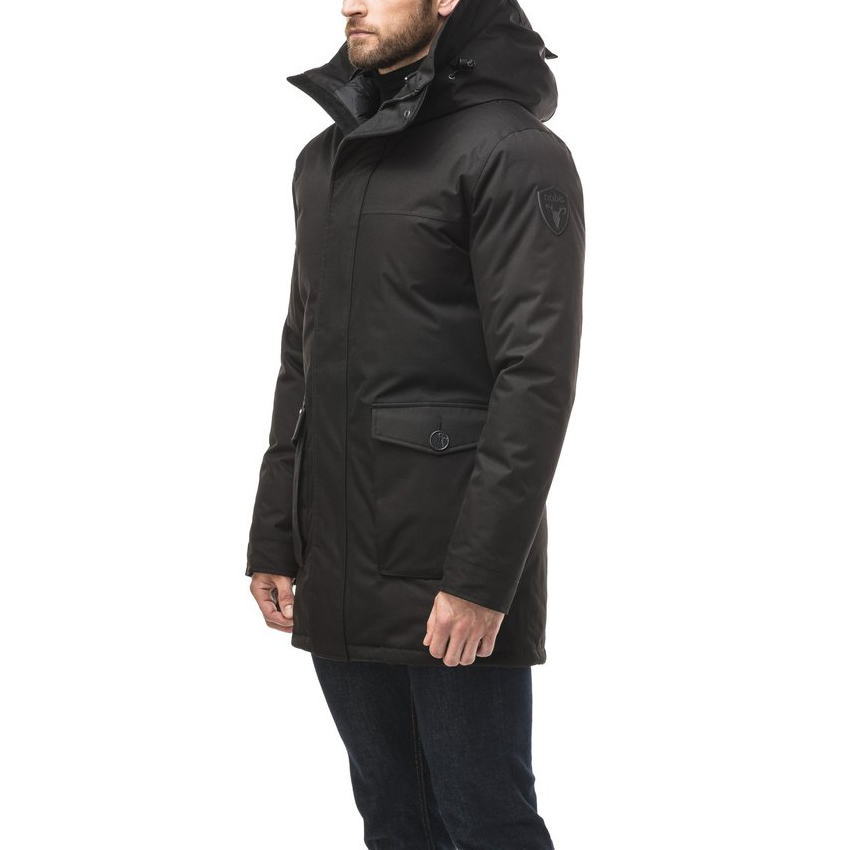 Nobis Jas Yves Parka Black without