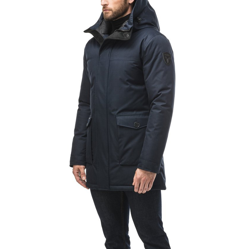 Nobis Jas Yves Parka Navy without